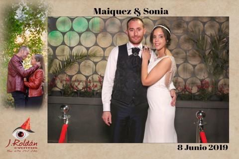 SONIA y MAIQUEZ - 8 JUNIO 2019